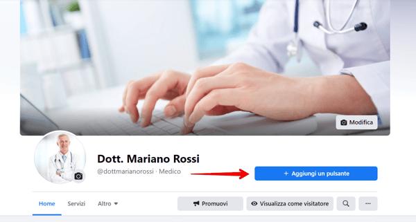 Facebook - Pulsante